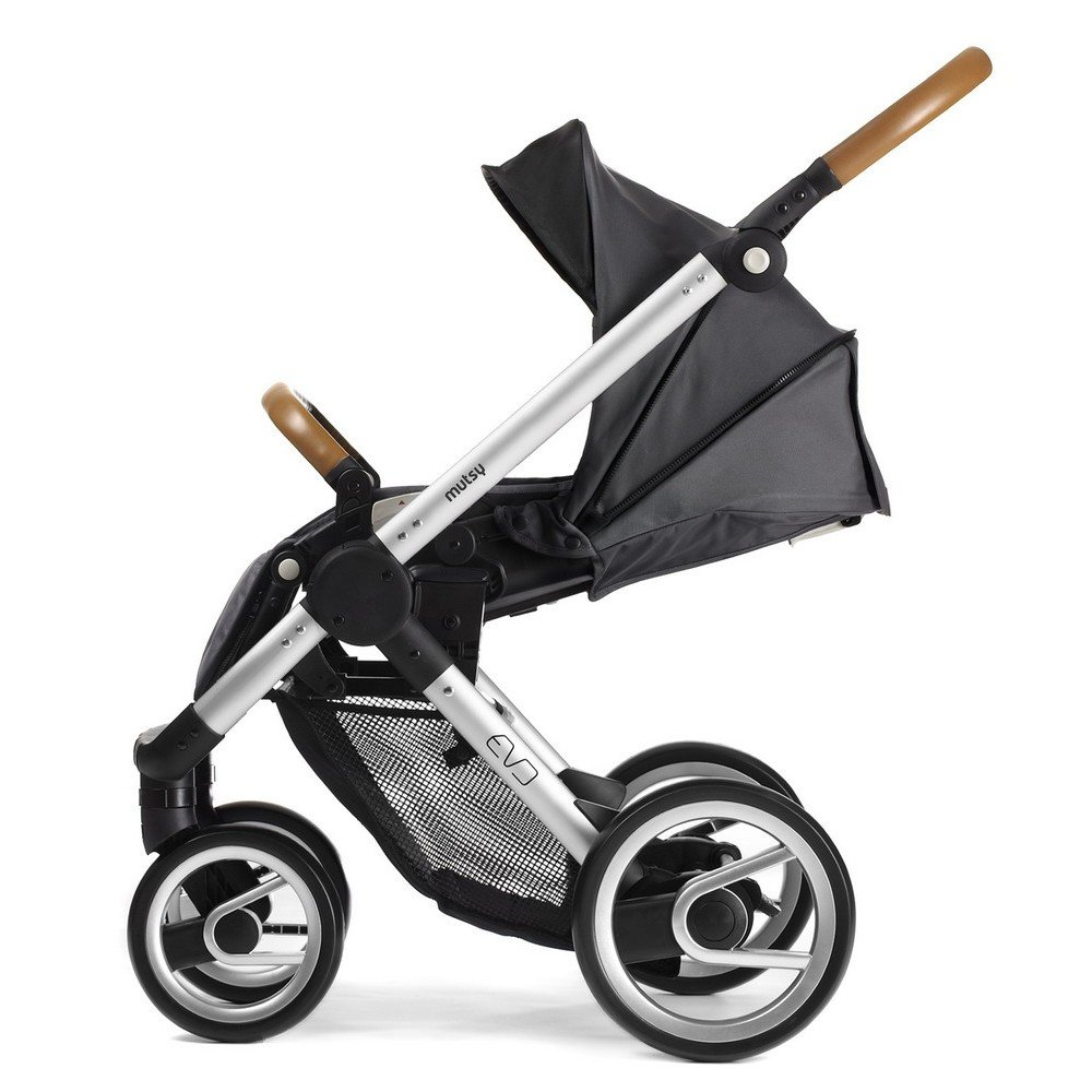 Mutsy Evo Urban Nomad 3 In 1 Black Travel System Package