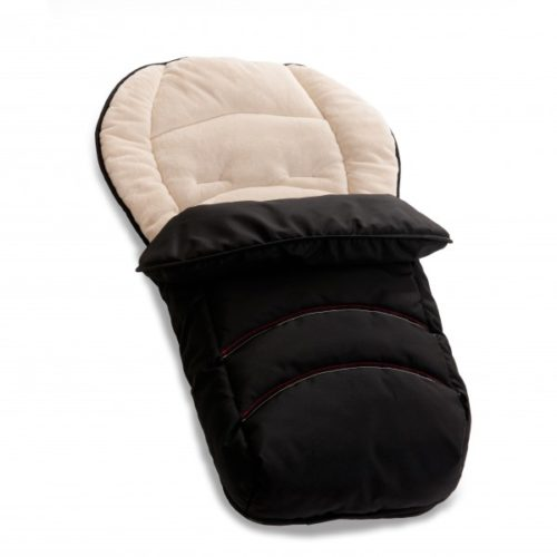 Hauck 2 in 1 Reversible Black Footmuff