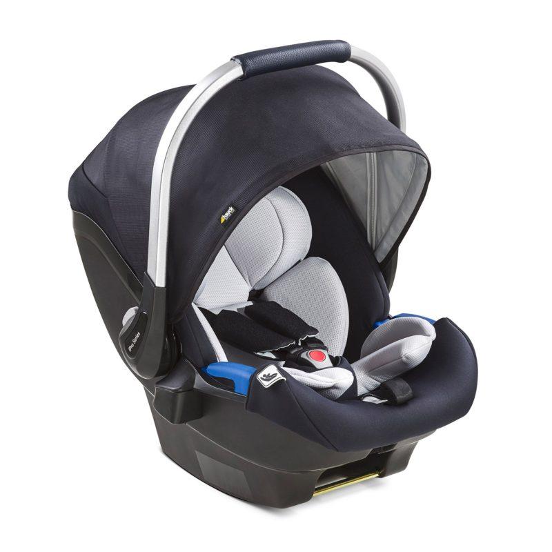 Hauck iPro Baby Infant Car Seat Caviar