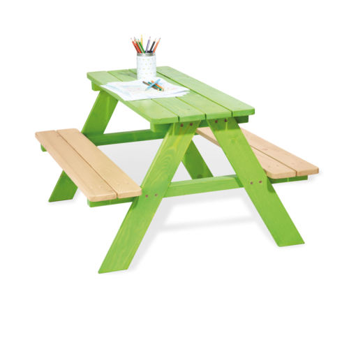 pinolino-Nicki-picnic-table-for-4-green