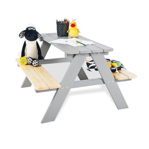 pinolino-Nicki-picnic-table-for-4-grey