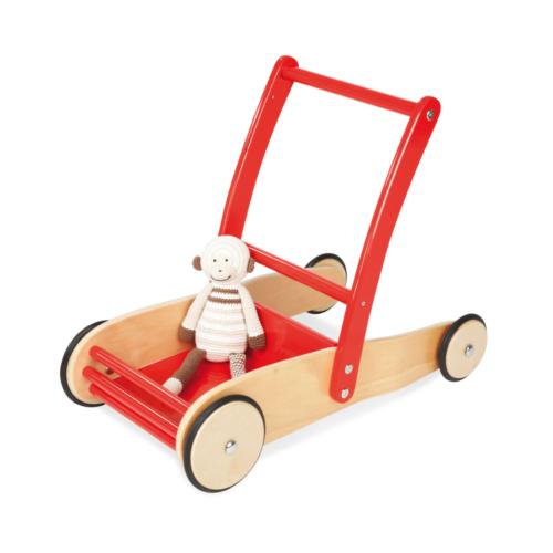 pinolino-uli-pushcart-red