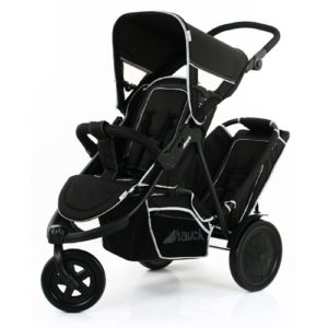 Hauck-Freerider-In-Line-Tandem-Double-Buggy-Inc.-Raincover-Black1