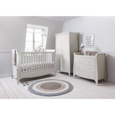 Tutti Bambini Roma Sleigh Nursery Room Set Builder - Linen