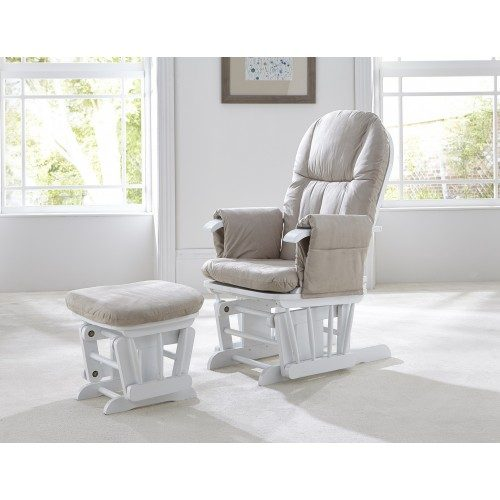 tutti-bambini-gc35-glider-chair-white-with-cream-cushions