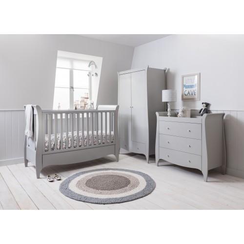 Tutti Bambini Roma Sleigh Nursery Room Set Builder - Dove Grey