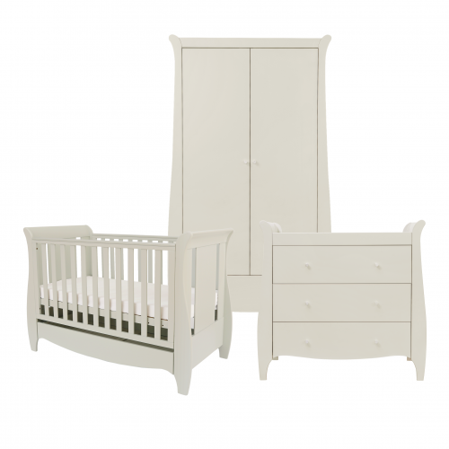 Tutti Bambini Roma Mini Sleigh Nursery Room Set Builder Linen Baby And Child Store