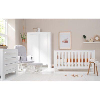 Rimini+Cot+Bed+5-Piece+Nursery+Furniture+Set