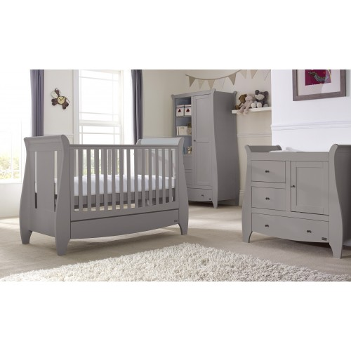 Tutti Bambini Lucas Nursery Room Set Builder - Cool Grey