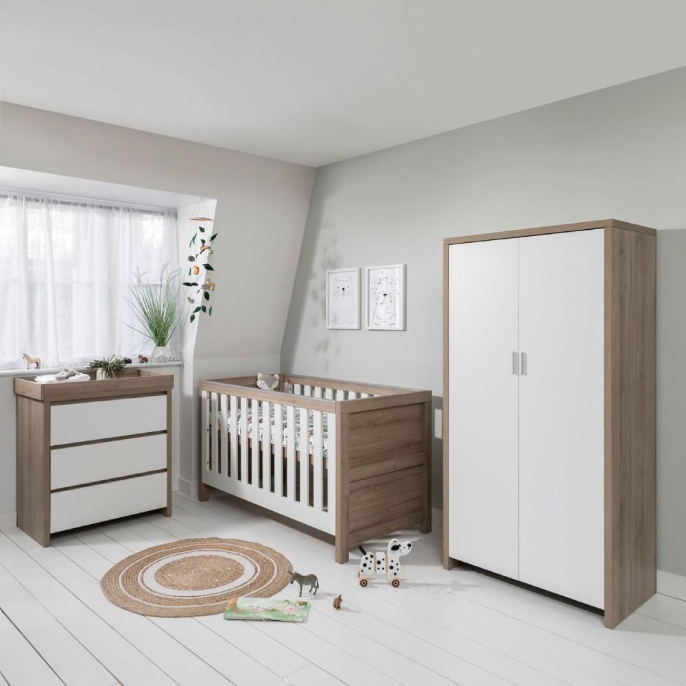 Outstanding Tutti Bambini Modena Nursery Room Set Builder White Oak Creativecarmelina Interior Chair Design Creativecarmelinacom