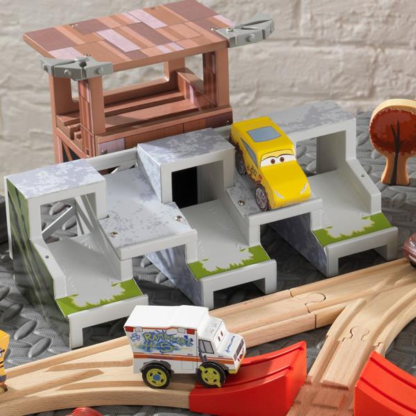 Kidkraft Disney Pixar Cars 3 50 Piece Thunder Hollow Track Set