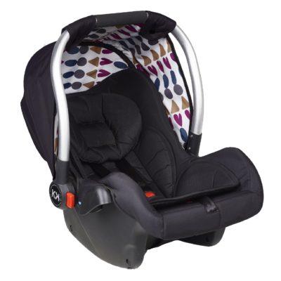 Kids Kargo Safety Pod 0+ Car Seat - Black
