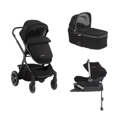 Nuna Demi Grow Isofix Travel System - Caviar