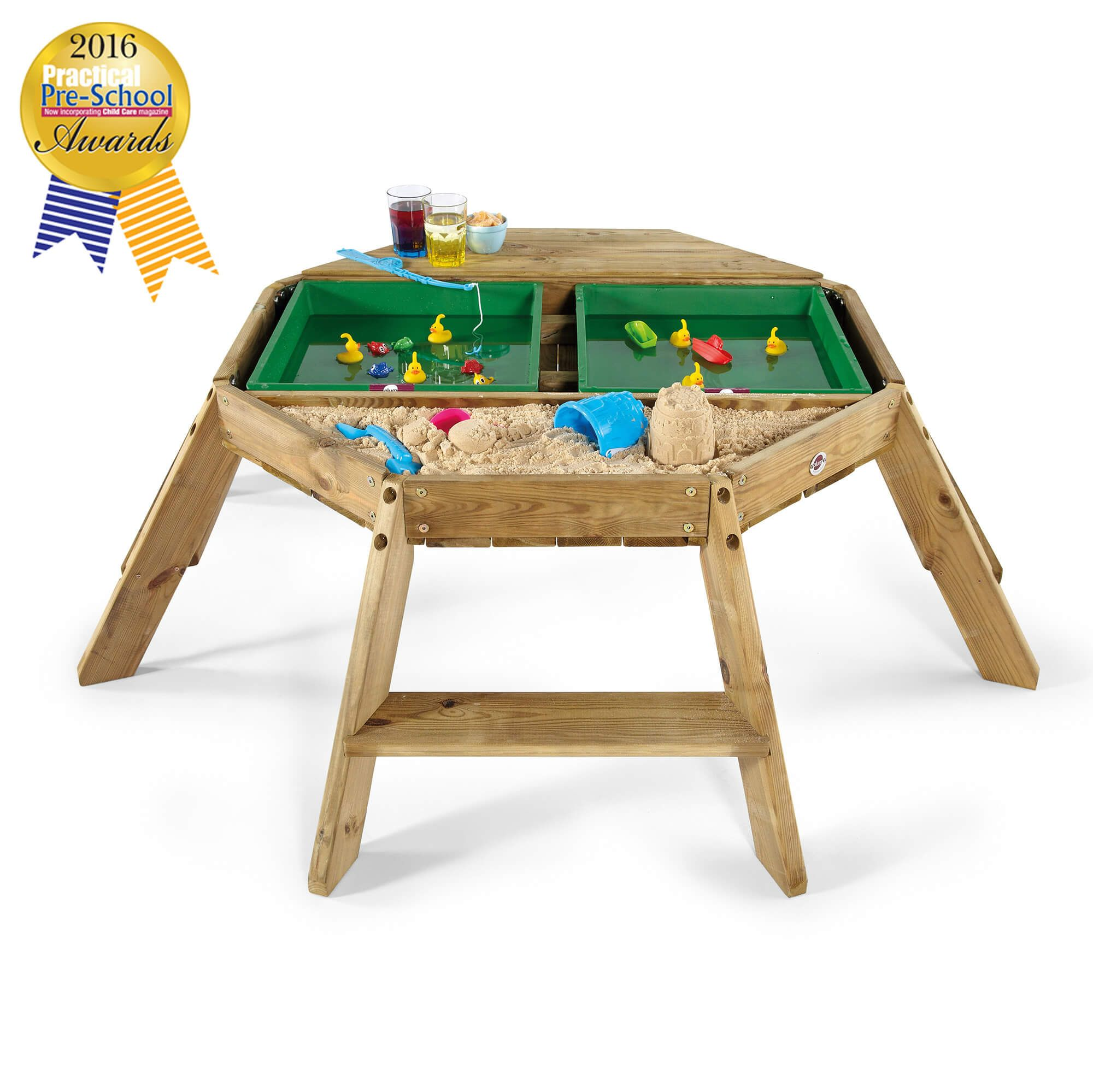Plum Wooden Octagonal Activity Table Baby And Child Store