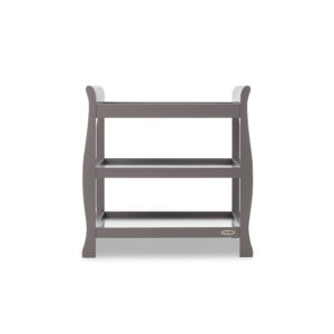 Obaby Stamford Sleigh Open Changing Unit - Taupe Grey