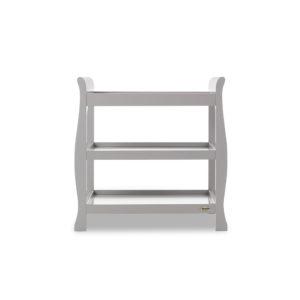 Obaby Stamford Sleigh Open Changing Unit - Warm Grey