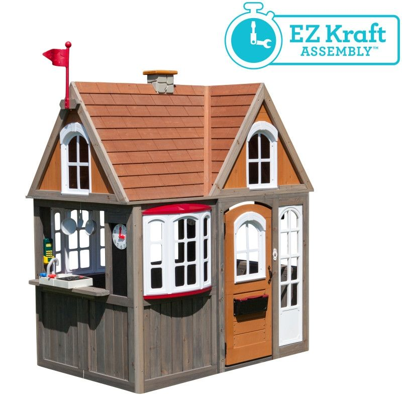 Kidkraft Greystone Cottage Playhouse Baby And Child Store