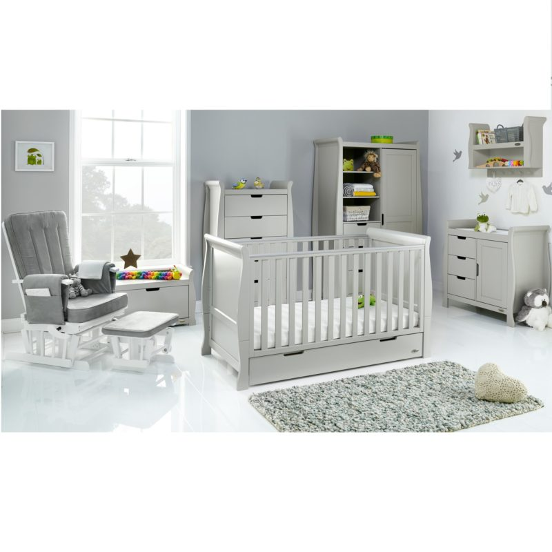 Obaby Stamford Collection Nursery Room Set Builder - Warm Grey