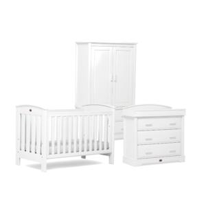 Boori Classic 3 Piece Room Set - White