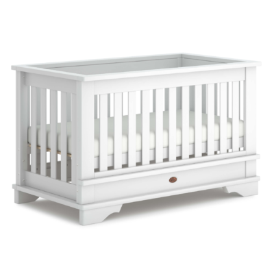 Boori Eton Convertible Cot Bed - Barley White