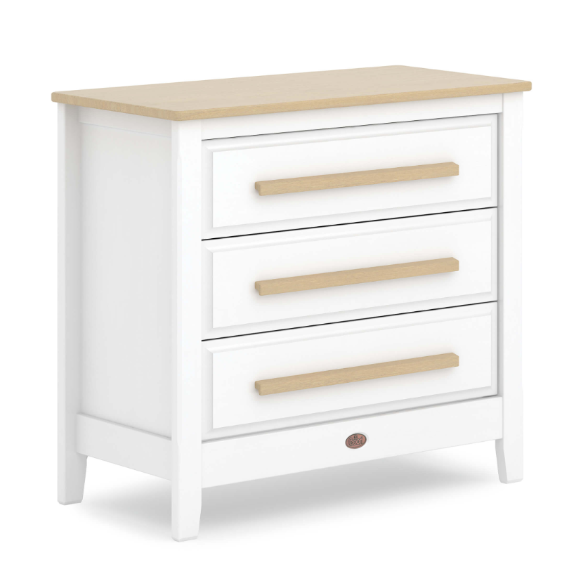Boori Pioneer Chest Of Drawers Barley White And Almond