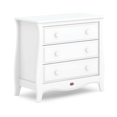 Boori Sleigh 3 Drawer Dresser Smart Assembly - Barley White