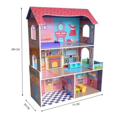Kiddi Style Supreme Tall Doll Town House1