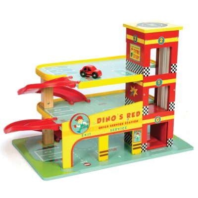 Le Toy Van Dino's Garage and Accessories