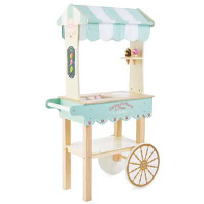 Le Toy Van Ice Cream Trolley and Accessories