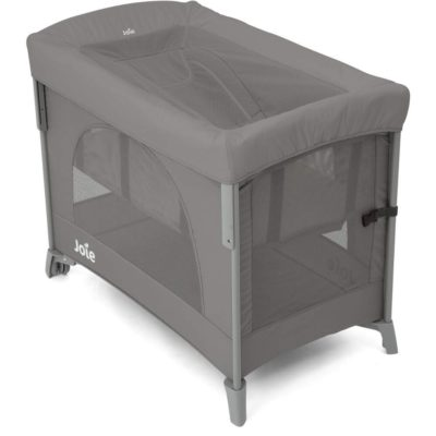 Joie Daydreamer Travel Cot Cover-Foggy Grey