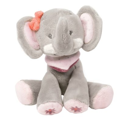 Nattou Large Cuddle Toy Adele the Elephant