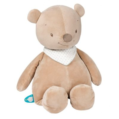 Nattou Large Cuddle Toy Basile the Bear