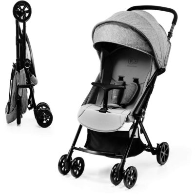 Kinderkraft Grey Lite Up Stroller