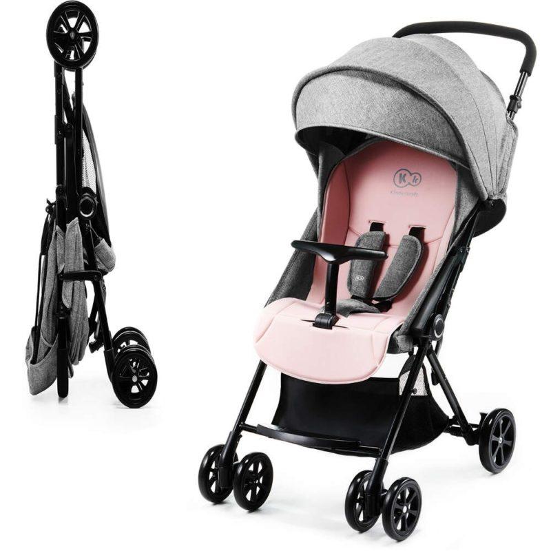 Kinderkraft Pink Lite Up Stroller