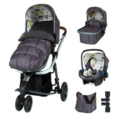 Cosatto Fika Forest Giggle 3 Travel System Bundle
