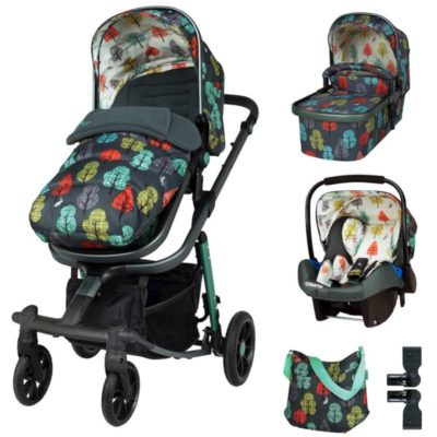 Cosatto Harewood Giggle Quad Travel System Bundle