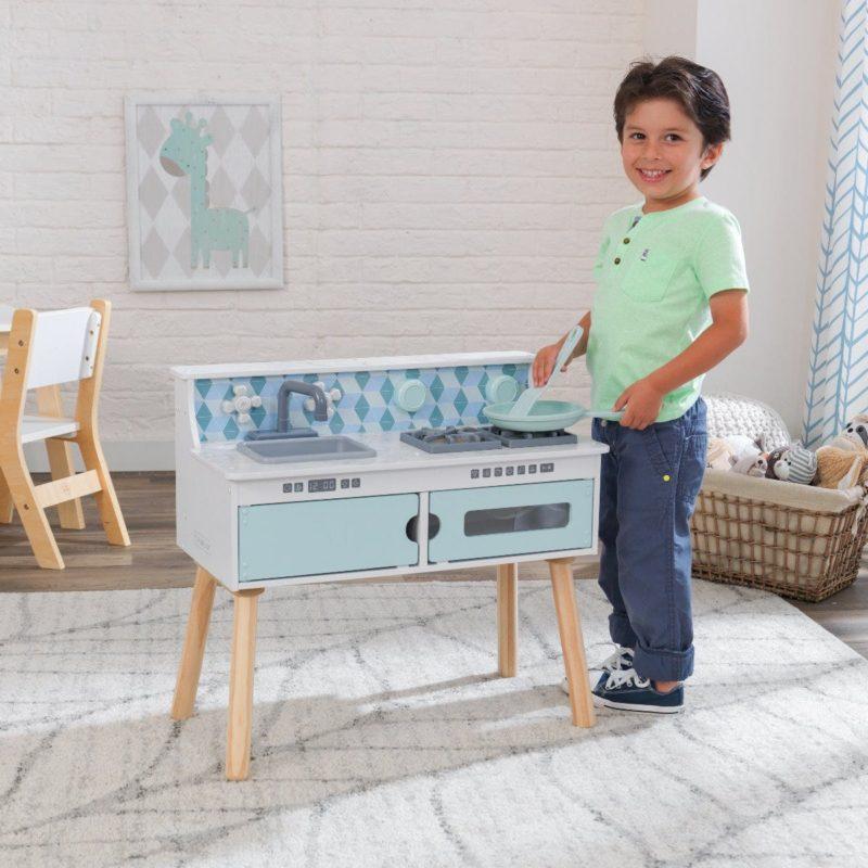 Kidkraft Play and Put Away Wooden Kitchen