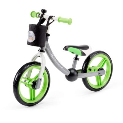 Kinderkraft Green/Grey 2 Way Next Balance Bike
