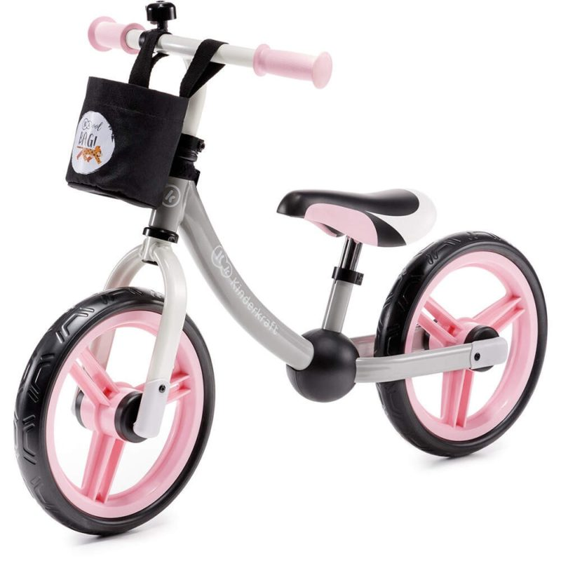 Kinderkraft Pink 2 Way Next Balance Bike
