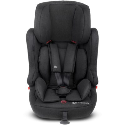 Kinderkraft Fix2Go Isofix Group 1,2,3 Car Seat - Black