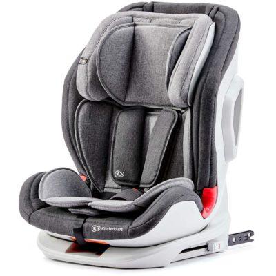 Kinderkraft Grey OneTo3 Isofix Car Seat