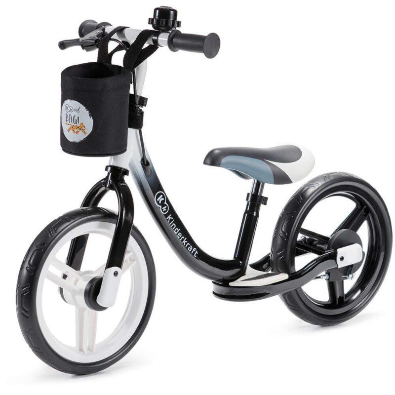 Kinderkraft Black Space Balance Bike