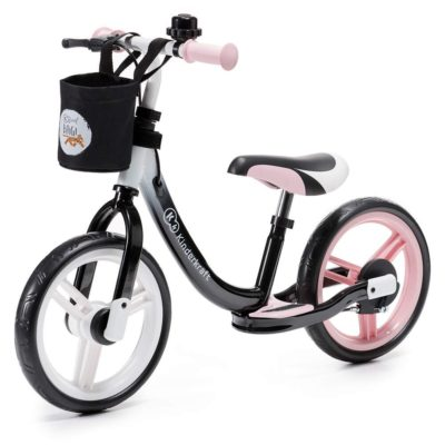 Kinderkraft Pink Space Balance Bike