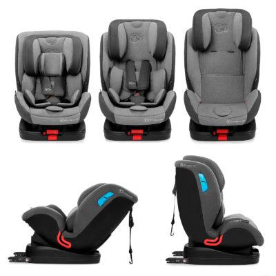 Kinderkraft Vado Isofix Grey Car Seat