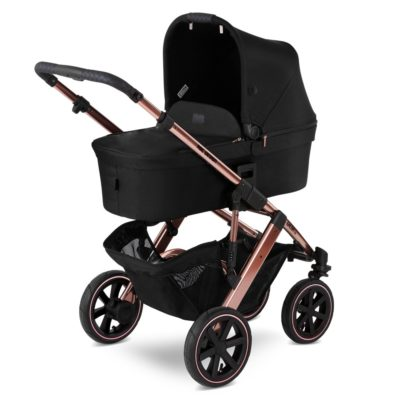 The ABC Design Rose Gold Salsa 4 Air combines the benefits of the trusty Salsa 4 with the positive characteristics of pneumatic tyres. Enjoy life with the Salsa 4 Air.