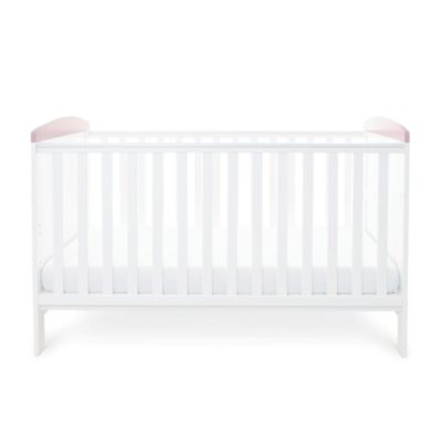 Babyhoot Style Cot Bed Elephant Love Pink