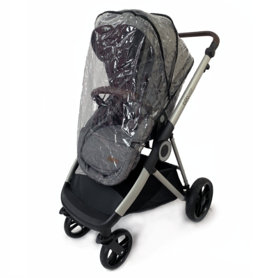 Estilo Bebe Otter Pram and Pushchair - Pebble Silver