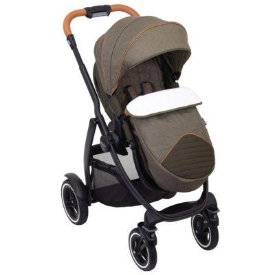Graco Evo XT Stand Alone Khaki Stroller
