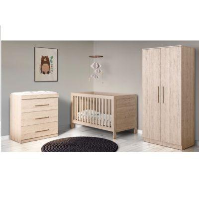 Babyhoot Grantham 3 Piece - Grey Oak
