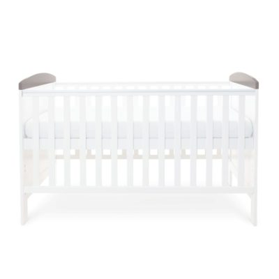 Babyhoot Style Cot Bed grey sloth